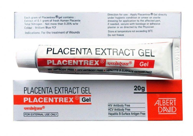 Placenta Extract Gel Placentrex Albert David (Гель Экстракт плаценты Плацентрекс Альберт Давид) 20гр
